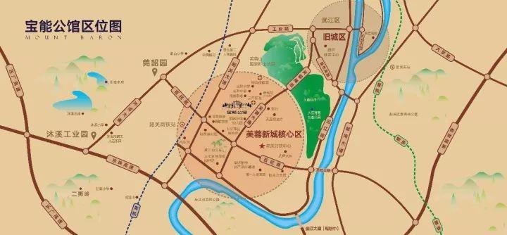宝能公馆位置图