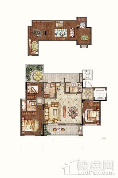 洋房1-3#中间户六层东边