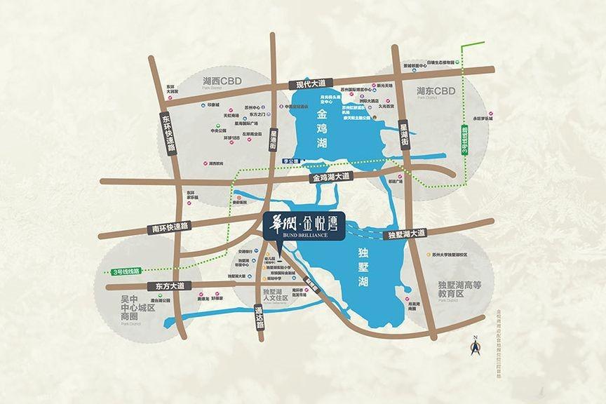 华润金悦湾位置图