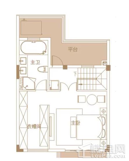 205平户型, 联排别墅