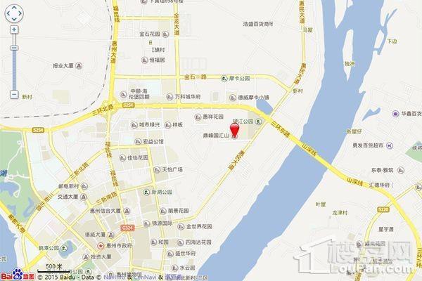 鼎峰国汇山位置图