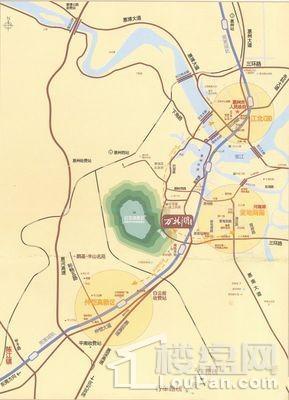 万林湖9期位置图