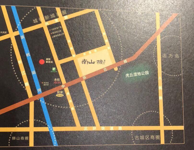 南山楠位置图