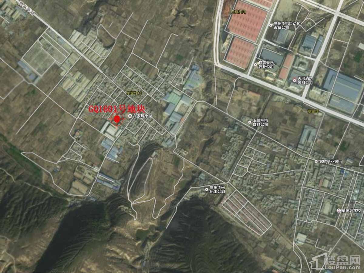 华润·誉澜山位置图