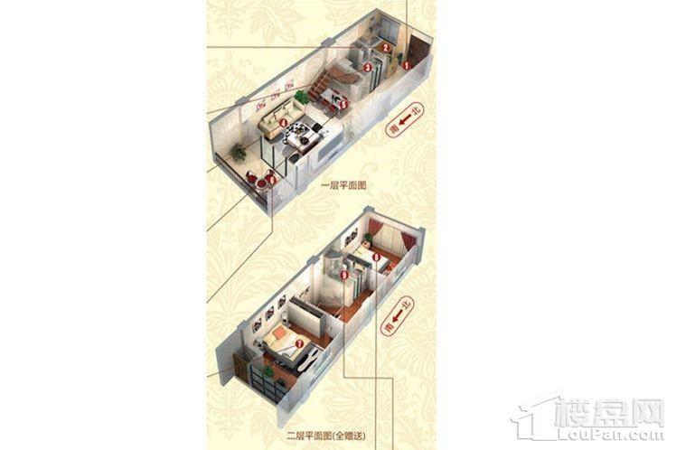 C号楼公寓标准层A户型
