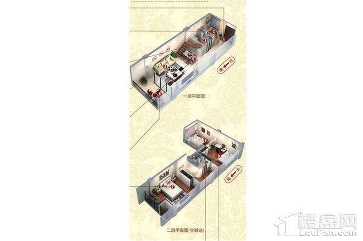 C号楼公寓标准层B户型
