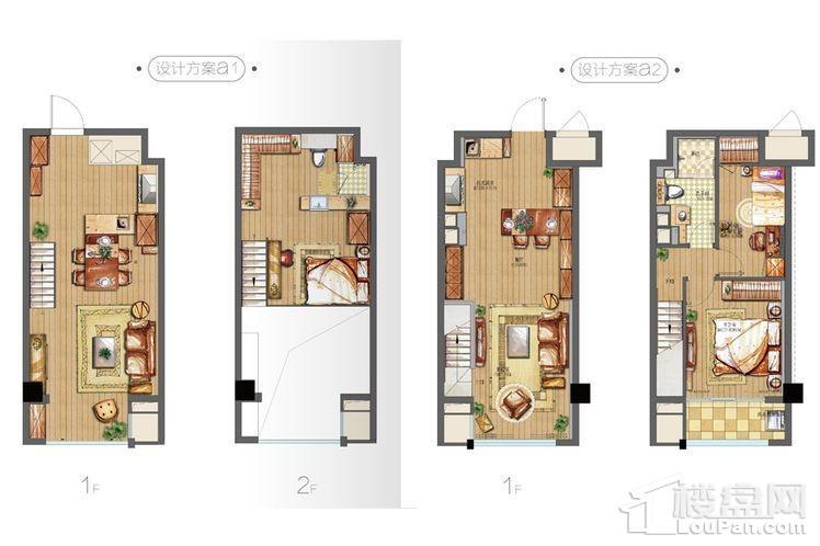 公寓52平户型