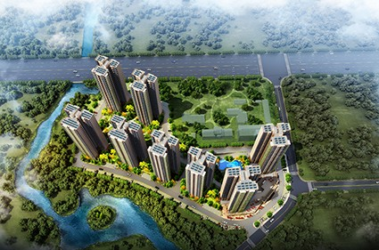 碧桂园新城之光效果图
