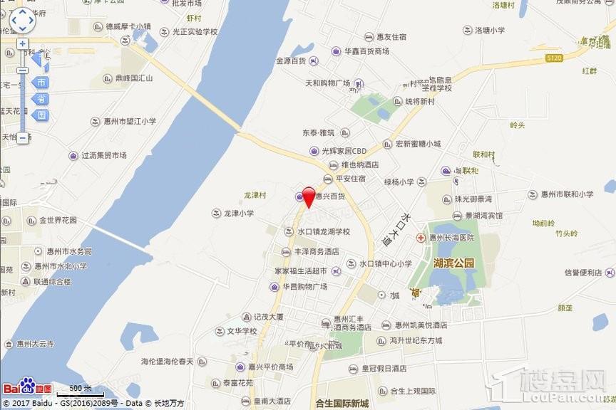 国兆嘉泓公馆位置图