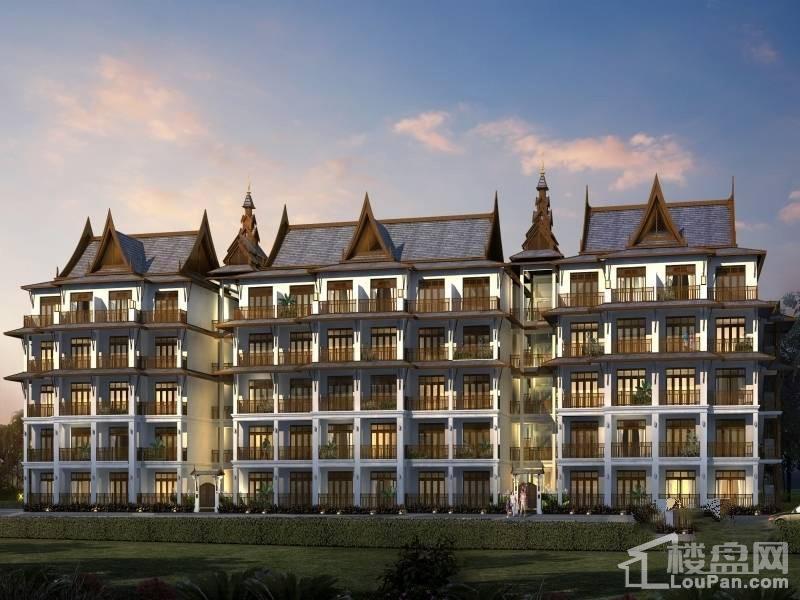 勐巴拉国际旅游度假区效果图