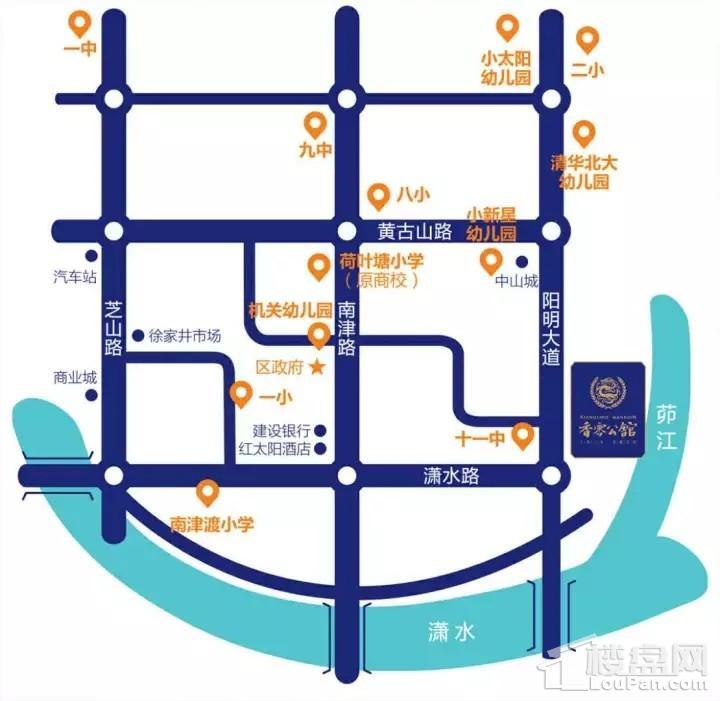 香零公馆位置图