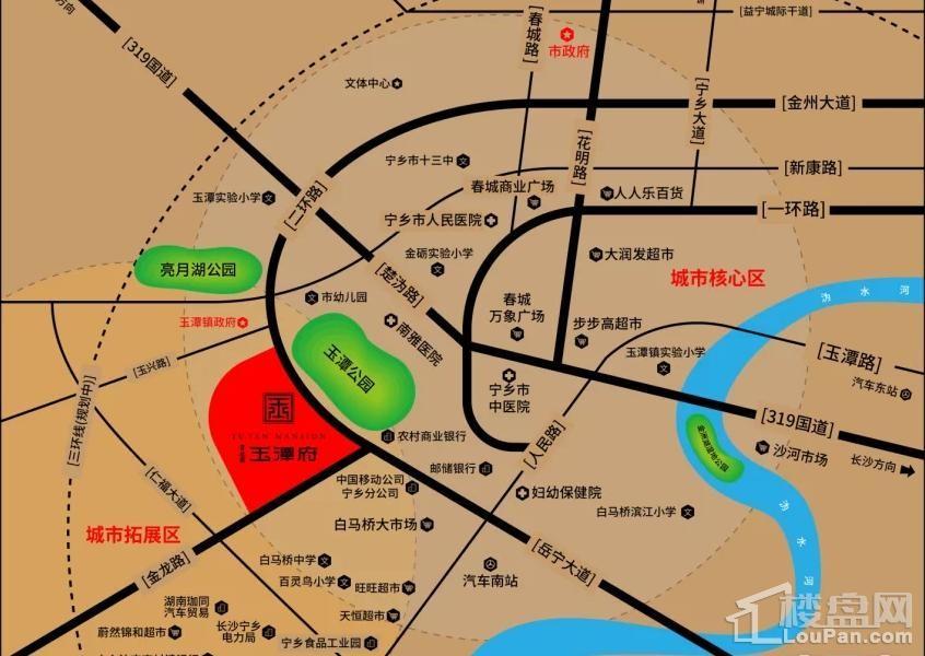 碧桂园玉潭府位置图