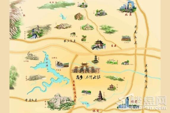恋乡太行水镇位置图