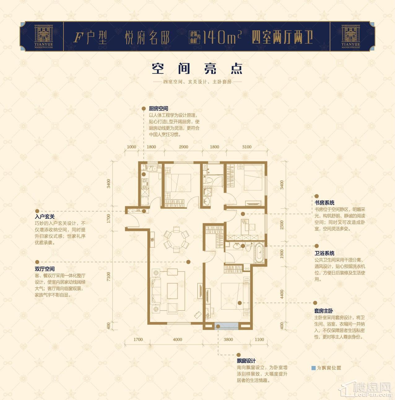 中海·天悦府户型图