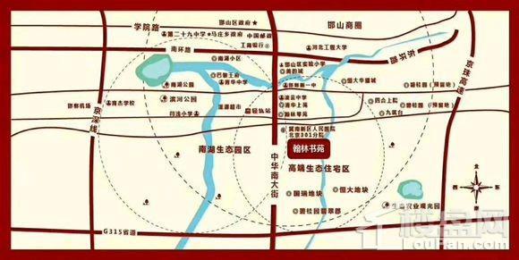 翰林书苑位置图