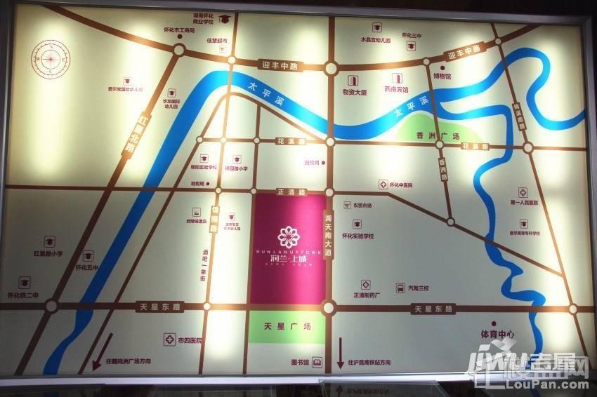 润兰上城位置图