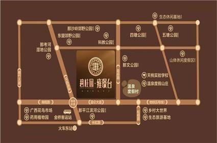 碧桂园雍璟台位置图