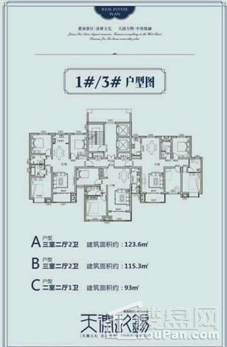 1#/3# ABC户型