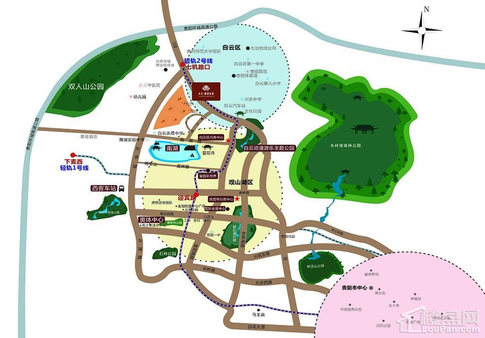 永实•御湖尚城位置图