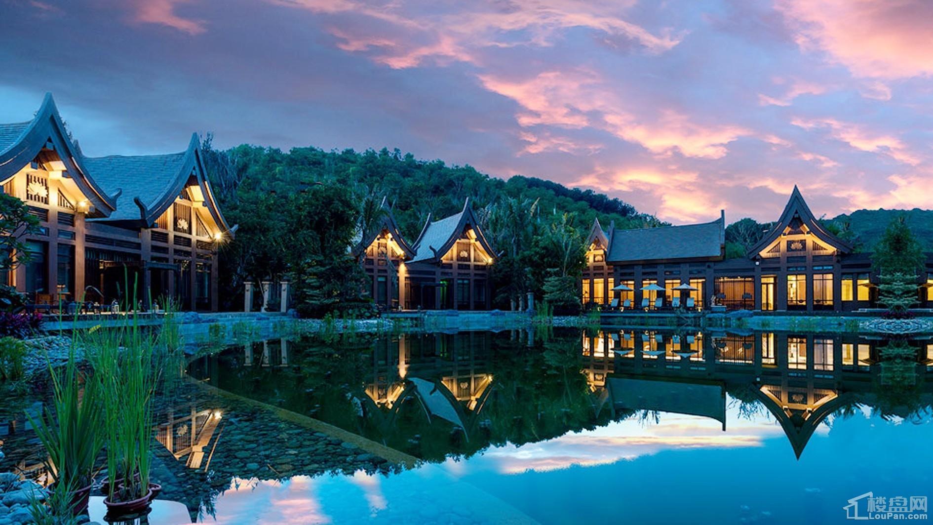 万达西双版纳国际度假区实景图