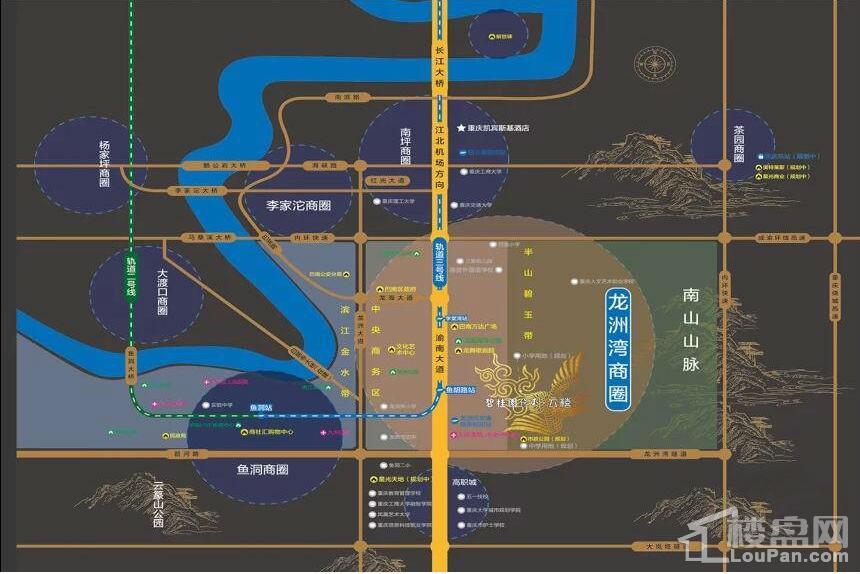 碧桂园保利·云禧位置图