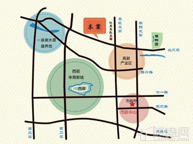 香溪名汇位置图
