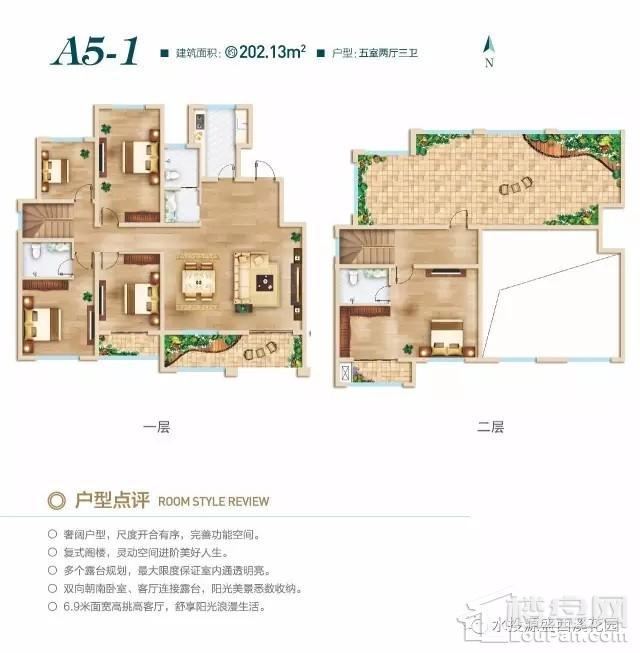 洋房A5-1户型