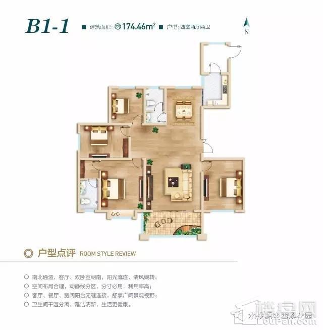 北区高层B1-1户型