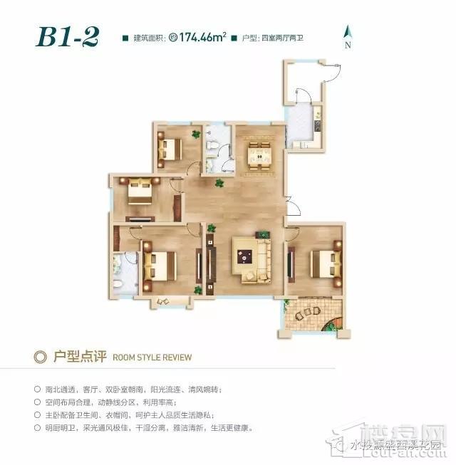 北区高层B1-2户型