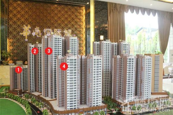 华商国际城实景图