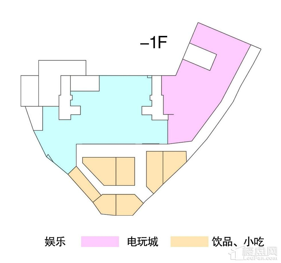 负一楼平面规划图