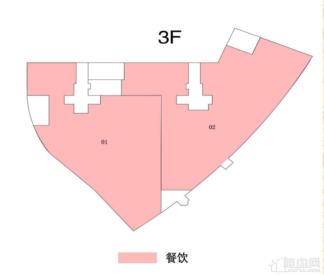 三楼商铺平面规划图