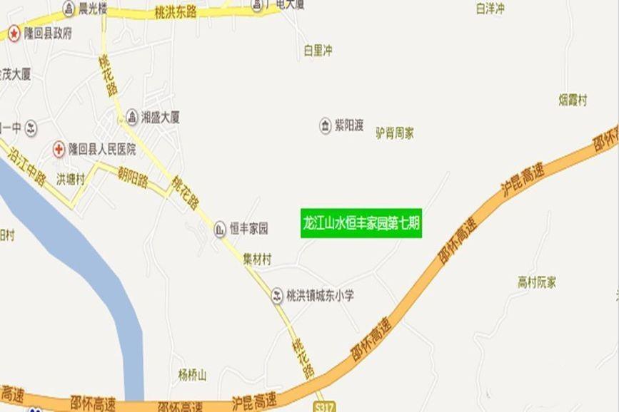 恒丰·龙江山水七期效果图
