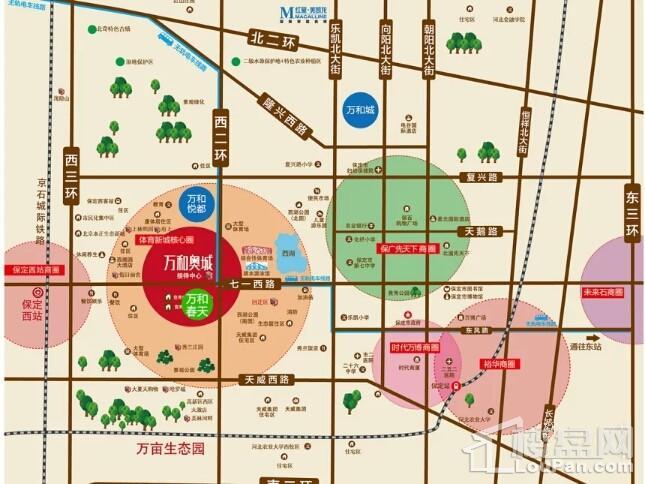 万和春天商业中心位置图