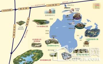 上置香岛澜湾位置图