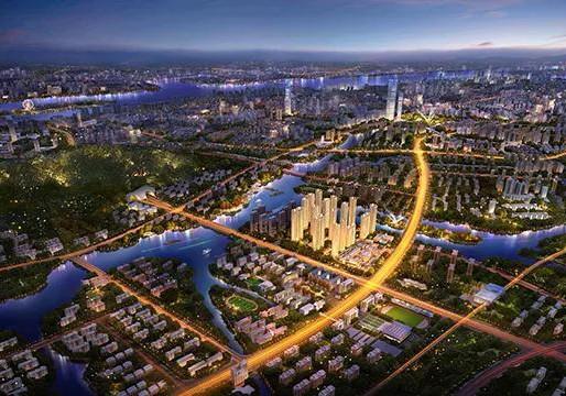 温州万科碧桂园·西江月高清图