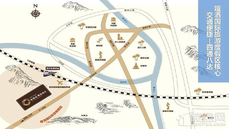 悦景庄位置图