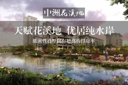 中洲花溪地效果图