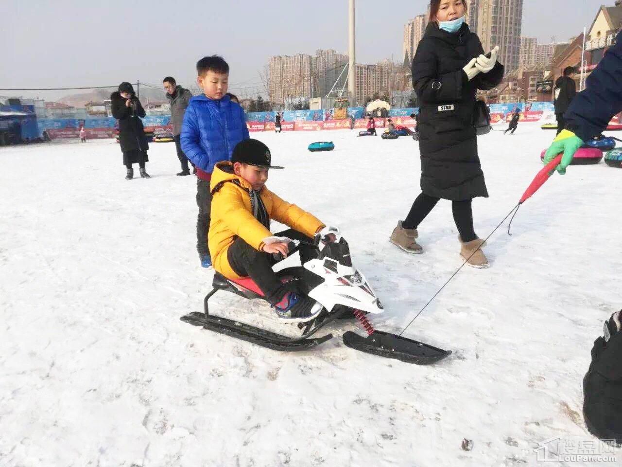 兰州碧桂园滑雪场