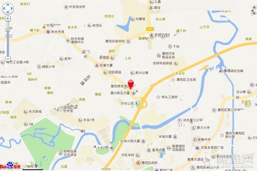 惠州奥园德明华庭位置图