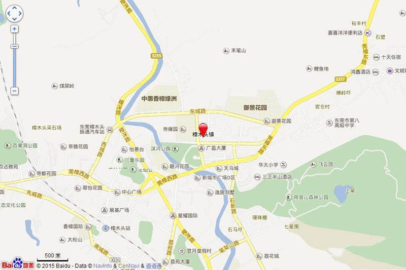 汇景城市中心位置图
