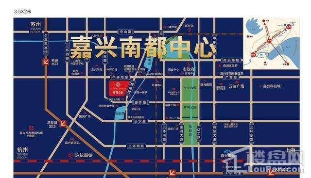 南都中心位置图