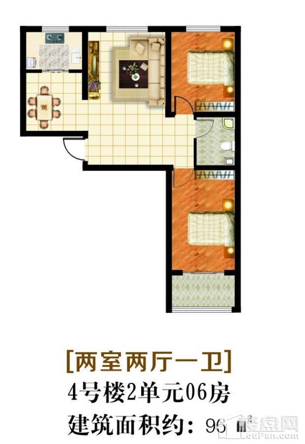 4#2单元06房