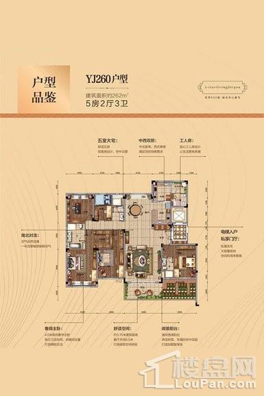 吉首碧桂园—YJ260户型