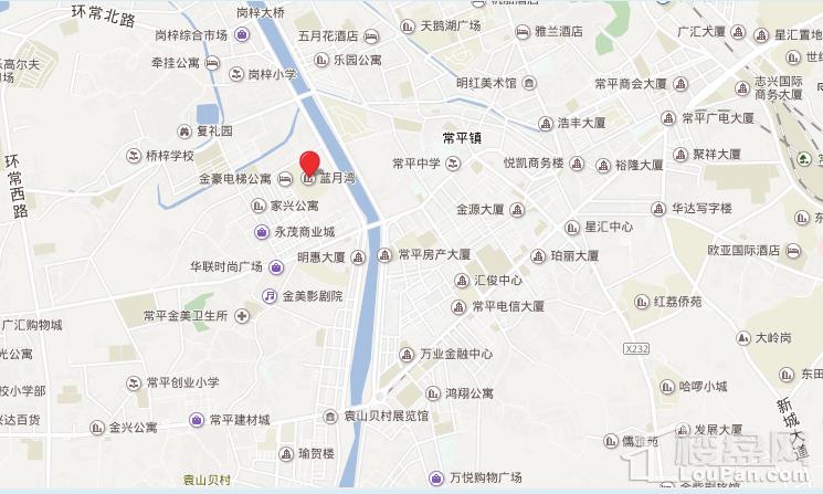 东兴悦庭位置图