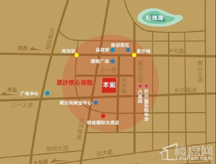 明城广场位置图