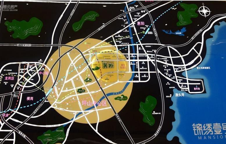 锦绣壹号位置图