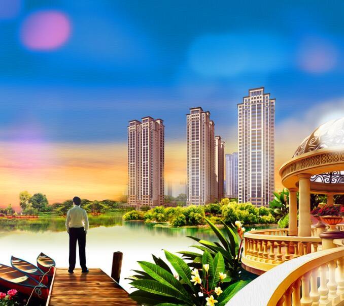 福星上江城效果图