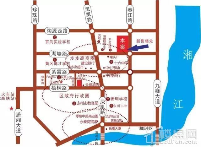 春江·帝景湾位置图