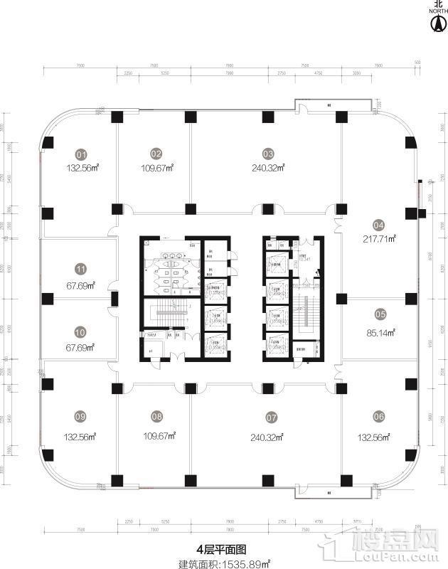 4层平面图